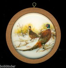 Hallmark 1984 RING NECK PHEASANT WILDLIFE ORNAMENT IN BOX (NO INNER SLEEVE)