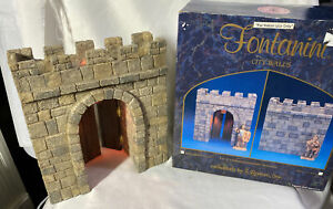 Fontanini-Heirloom-CITY-WALLS-Lighted-City-Gate-For-5-034-Nativity-94803-NEW