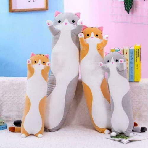 Long Cat Pillow Filling Cute Cat Animal Doll Plush H9T9 Toy Pillow Home Tra U7K3