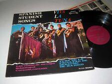 TUNA DE LA FACULTAD Spanish Student Songs LONDON INTERNATIONAL Mono NM/NM-