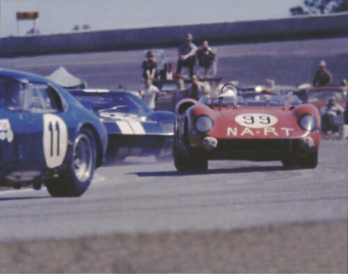 Cobra Coupe /& Ford GT40 Vintage 8 X 10 1965 Daytona Continental Ferrari 275P
