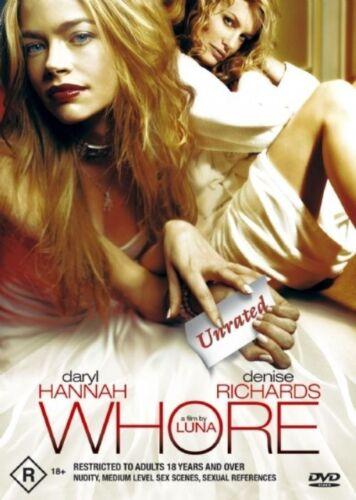 1 of 1 - Whore (DVD, Region 4) Daryl Hannah - Brand New, Sealed