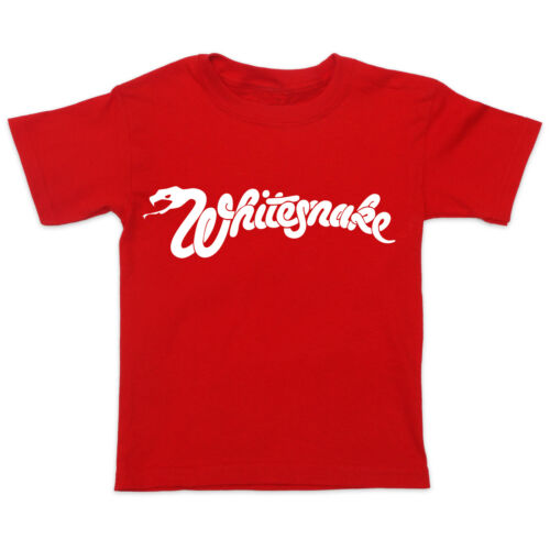 Baby Toddler Kids T-Shirt Tee WHITESNAKE ROCK METAL MUSIC BAND