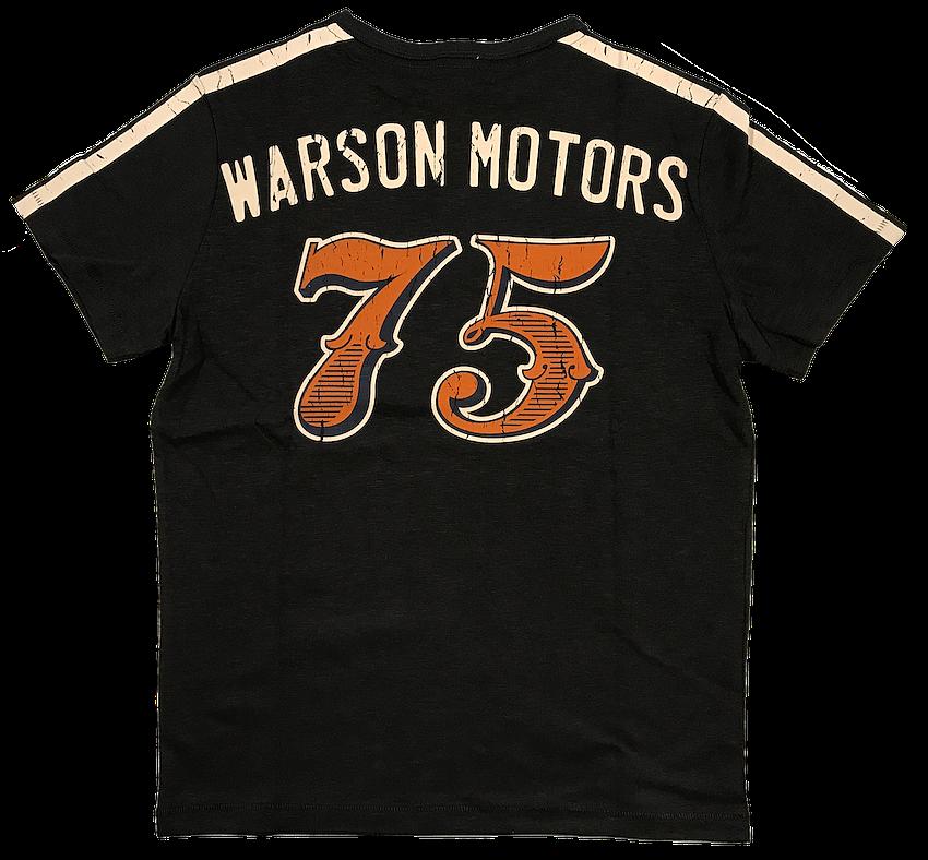 Warson Motors T-Shirt Speedway Racer Carbone Menn
