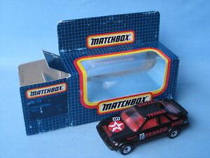 Matchbox-Ford-Sierra-XR4i-Black-Body-Texaco-BTC-Toy-Model-Car-75mm