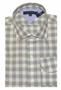 Tommy-Hilfiger-Men-039-s-Long-Sleeve-Cotton-Casual-Shirt
