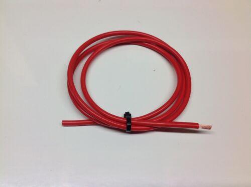 Cable Rojo 6mm2 50amp Pared Delgada Cable