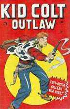 KID COLT WESTERN COMICS COLLECTION ON DVD. 1948-79. US GOLDEN/SILVER AGE. OUTLAW