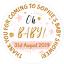 48-Personnalise-Baby-Shower-Fete-Sac-Autocollants-Sweet-Sac-Cone-Seals-40-mm-etiquettes miniature 1