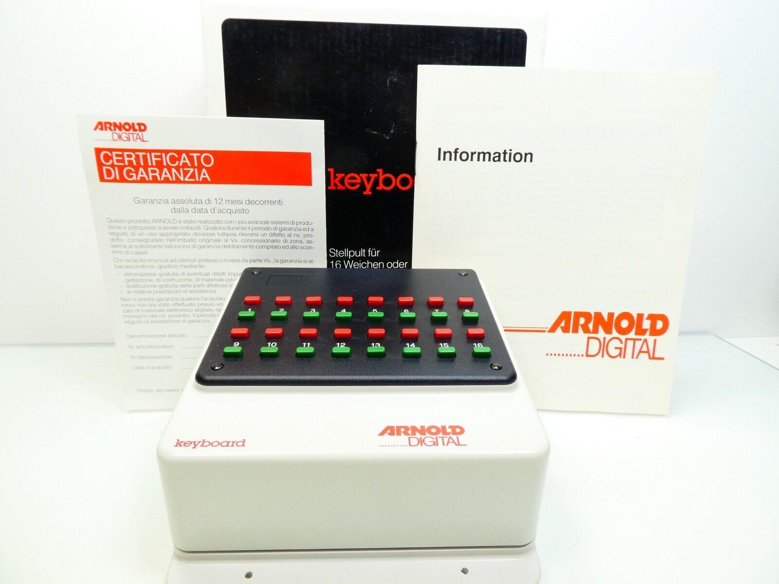 Arnold Digital 86040 - Keyboard - Baugleich Märklin 6040 - TOP in OVP -  8377