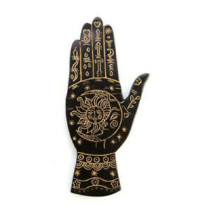 Palmistry-Gold-Flat-Incense-Burner-Perfect-for-Favourite-Fragrant-Incense-Cones