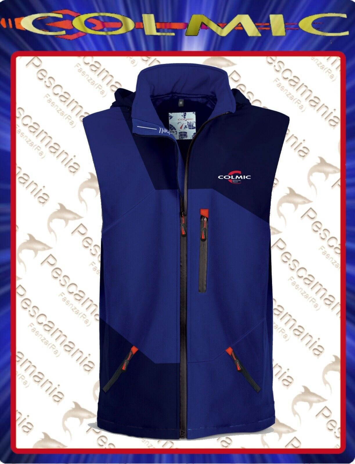 Gilet softshell Colmic  OFFICIAL TEAM  impermeabile traspirante windstop