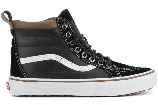 Vans SK8-HI MTE Black True White Tan Casual Skate Discounted (535) Men's Shoes