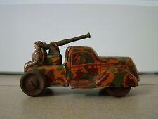 Blechspielzeug Militär LKW Auto Soldaten Truck Tintoy Tole Jouet Chein X 310