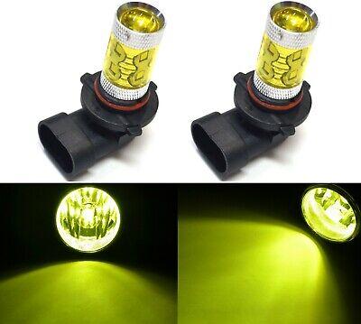 LED Kit X3 50W 9005 HB3 3000K Yellow Two Bulbs Head Light High Beam Upgrade Fit