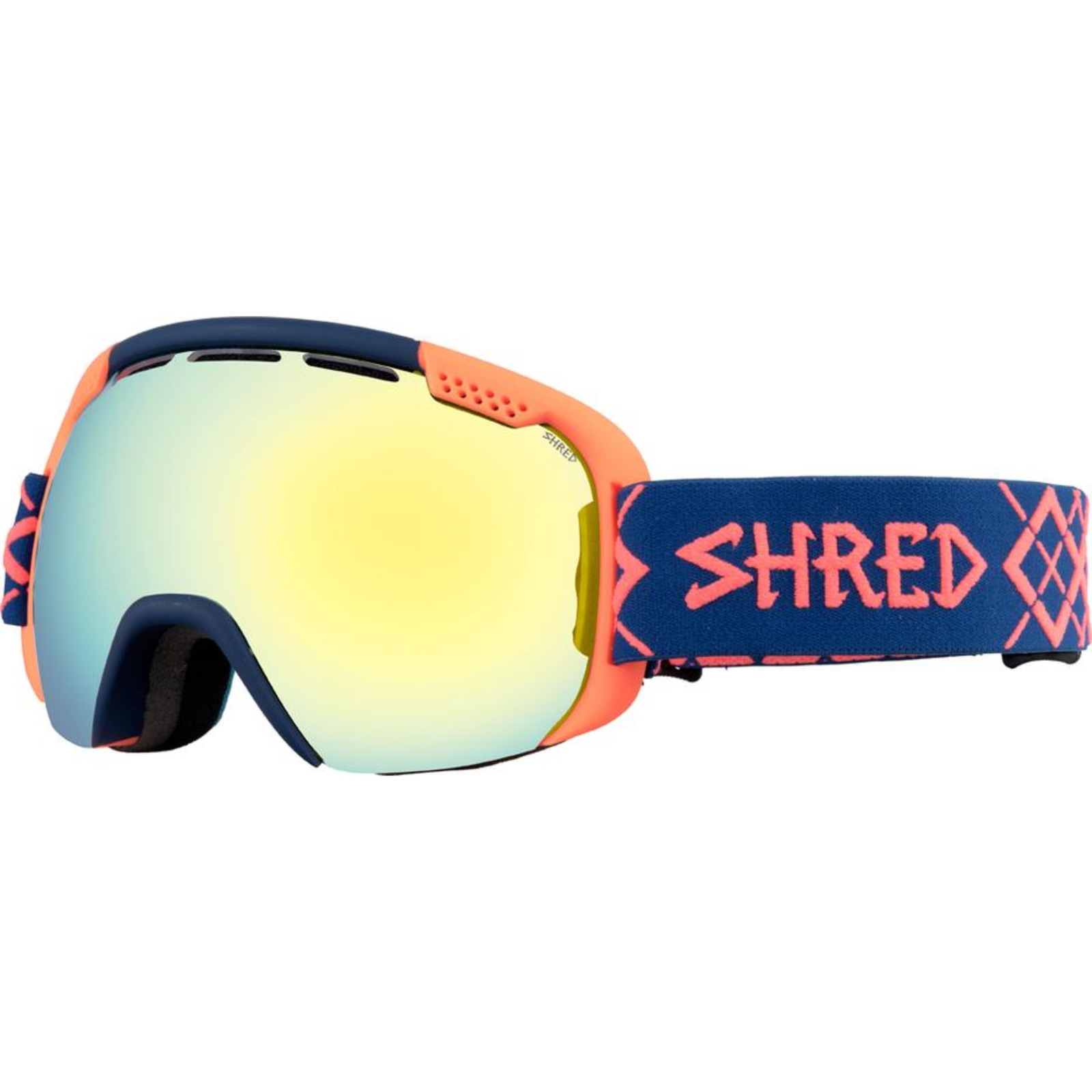 ShROT Smartefy Goggles - Bigshow Navy/Rust