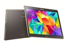 """Samsung Galaxy Tab S SM-T805Y 10.5"""" 16GB WiFi +4G Titanium Bronze Faulty SIM"""