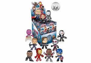 Mini vitrine Variante Mystery de Captain America Civil War - Nouveau En Stock