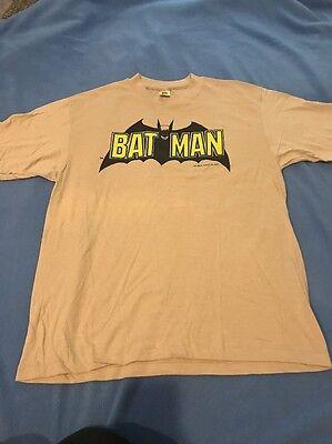 Aggressivo 1982 Batman T-shirt / Made In Usa / Uomo Taglia Xl / Deadstock Comodo E Facile Da Indossare