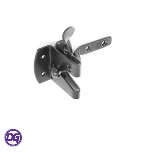 Securit Auto Gate Latch Black S5130
