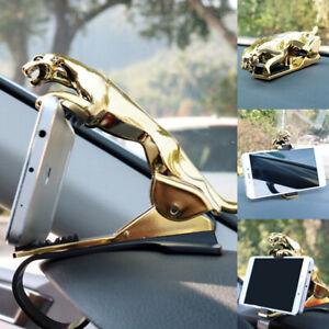 Unique Car Phone Holder Jaguar Design Universal GPS Mount Clip Adjustable Stand