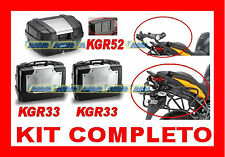 SUZUKI GSF 1250 BANDIT  KIT 3 VALIGIE KGR33 + KGR52 + TELAIO PL539 + 539FZ + M53