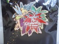 DISNEY 2005 HAPPIEST PIN CELEBRATION EVENT TINKER BELL MAGIC LE 750 HTF
