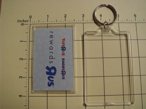 """50 X Rectangle 3½/""""X2⅛/"""" Clear Blank Gift//Library Card//ID pass Insert DIY Keychain"""