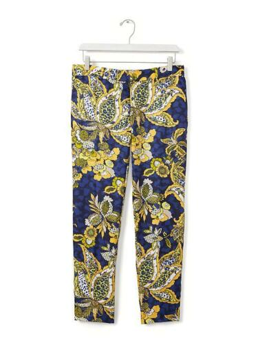 Taille Nwt Pant Entrejambe Blue 25 12p Crop fit Republic Banana Avery Print wHqPz7z