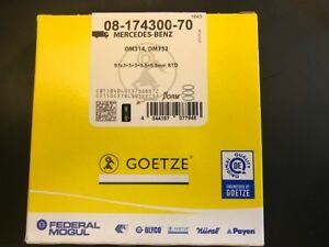GOETZE-0817430070-Kolbenringsatz-Piston-Ring-Kit-MercedesBenz-T2L-0817430070