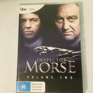 INSPECTOR-MORSE-VOLUME-2-DVD-4-DISCS-8-EPISODES-R4-VGC-FREE-POST