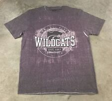 Gear For Sports K-State Wildcats Short Sleeve T-Shirt Grey Women's SZ Large