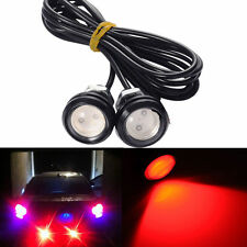 1.8Cm 9W 500-Lumen Waterproof LED Daytime Running Emitting Color Red