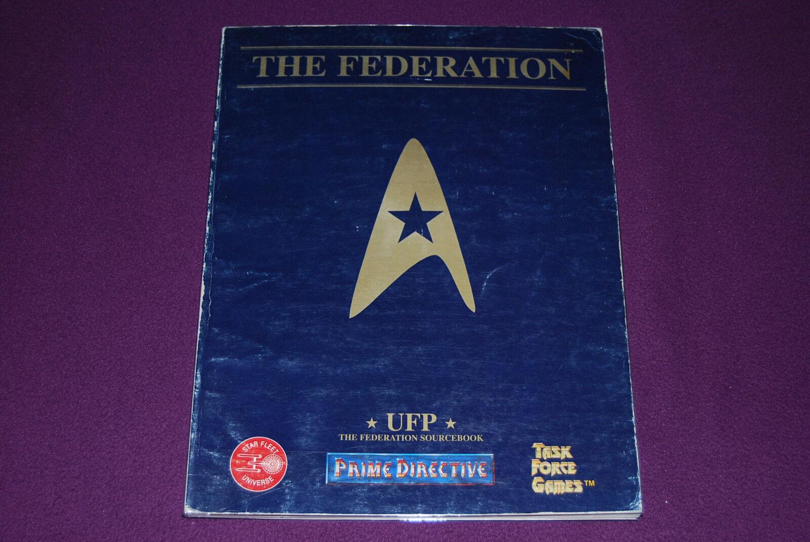 PRIME DIRECTIVE DIRECTIVE DIRECTIVE (STAR TREK) RPG JDR Jeu de Role - UFP   Federation Sourcebook 9da856