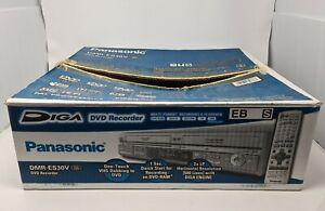 Panasonic DMR-ES30V DVD VCR Recorder Combo Remote Manual Box COPY VHS to DVD