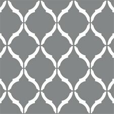 "Moroccan Wall Stencil 2 PACK 12""x9"" Craft Airbrush Pattern Painting Paint Art"