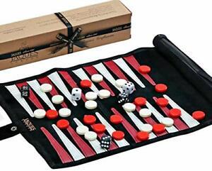 Jaques-de-Londres-Backgammon-Set-PREMIUM-Cuir-veritable-Travel-Backgammon-Set