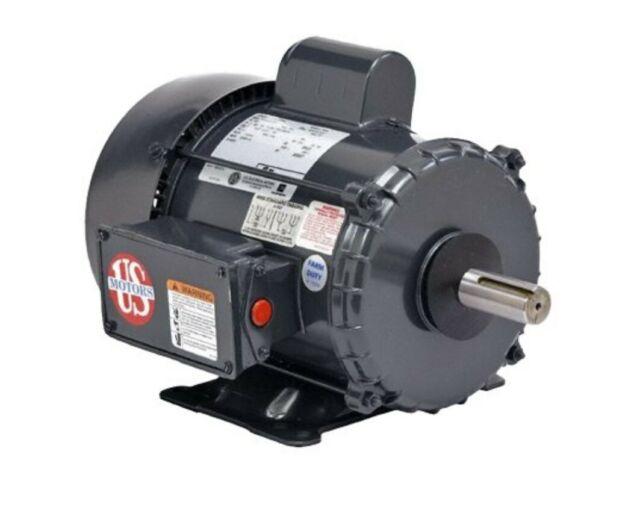 Baldor Industrial Electric Motor PH3 RPM 3450 V 230//460 34G767-0157 HP 1//3