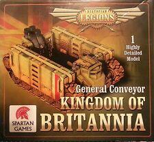 KINGDOM OF BRITANNIA GENERAL CONVEYOR - DYSTOPIAN LEGIONS - SPARTAN GAMES