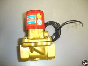 """Lancer Skinner AO7 24 VDC Solenoid 3/4"""" Brass Valve NEW"""