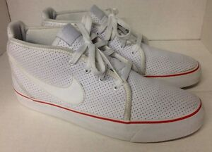 Nike Toki ND White/White 385444-101 Men's SZ 9.5