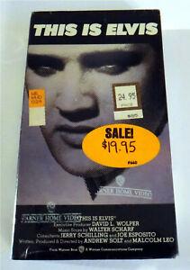 This Is Elvis ~ New VHS Movie ~ Rare Elvis Presley Vintage ...