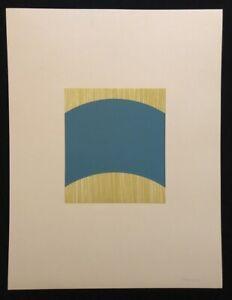 Achim-Hoops-Ohne-Titel-farblithographie-1992-a-mano-firmata-e-datata