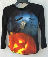 $48 Zara Terez Long Sleeve Halloween Baseball Shirt Girls Size M 10/12