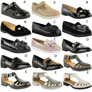 WOMENS-LADIES-GIRLS-NEW-FLAT-OFFICE-SCHOOL-SHOES-SMART-FORMAL-LOAFERS-PUMPS-SIZE