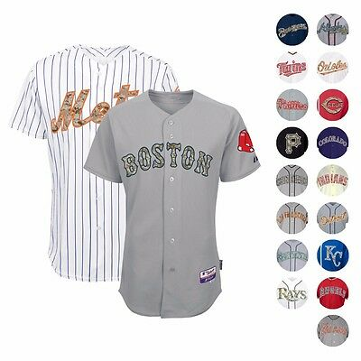 United States Marine Corps USMC MLB Cool Base Authentic Game Jersey by MAJESTIC