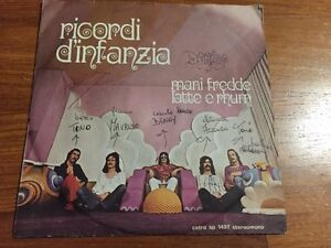Disco-Vinile-45-7-039-039-Giri-Ricordi-d-039-Infanzia-Gli-Aspidi-Rock-Progessiva-italiana