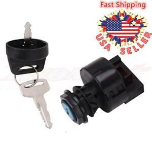 Ignition Key Switch For Polaris Big Boss Hawkeye Magnum Scrambler Trail Blazer