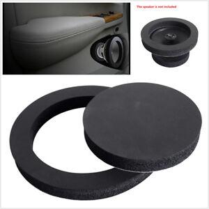 4PCS 6.5/'/' Car Speaker Ring Bass Door Trim Sound Insulation Cotton Accessories