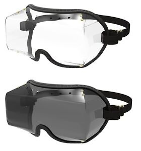 5e10f3e0397 KROOPS VFR OTG OVER THE GLASSES GOGGLES for Horse Riding   SkyDiving ...